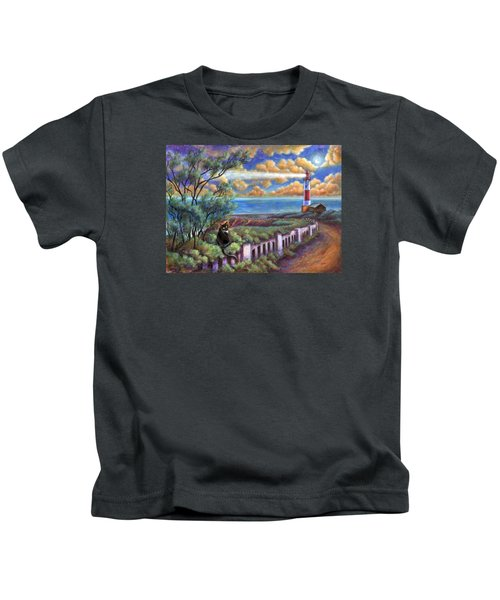Beacons In The Moonlight Kids T-Shirt