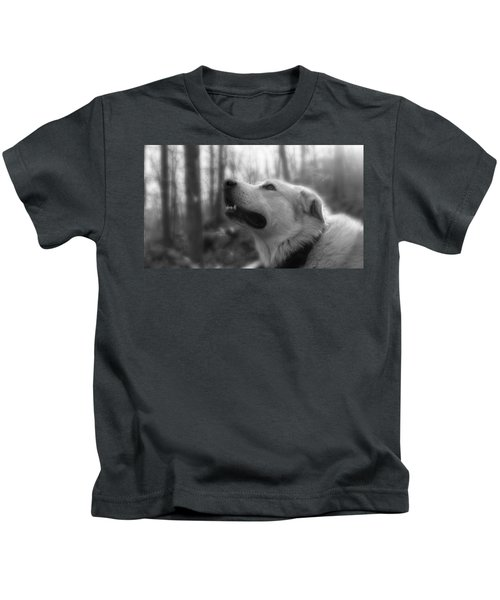Bear Tooth Not Camera Shy Kids T-Shirt