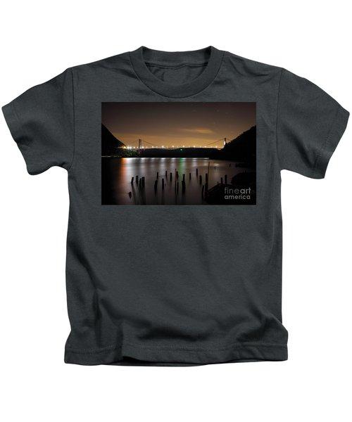 Bear Under The Sky Kids T-Shirt