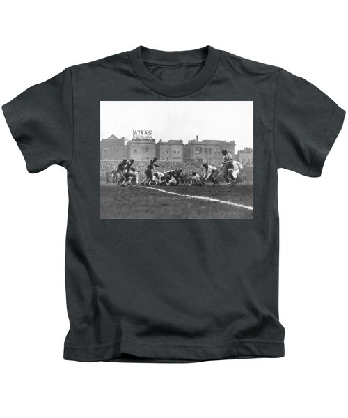 Bears Are 1933 Nfl Champions Kids T-Shirt by Underwood Archives