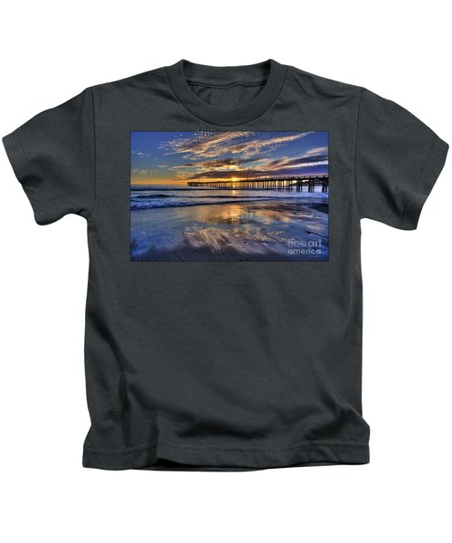 Beautiful Cayucos Kids T-Shirt
