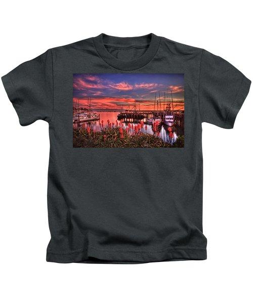 Beautiful Harbor Kids T-Shirt
