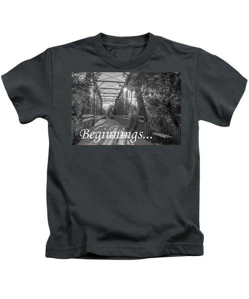 Beginnings... Kids T-Shirt
