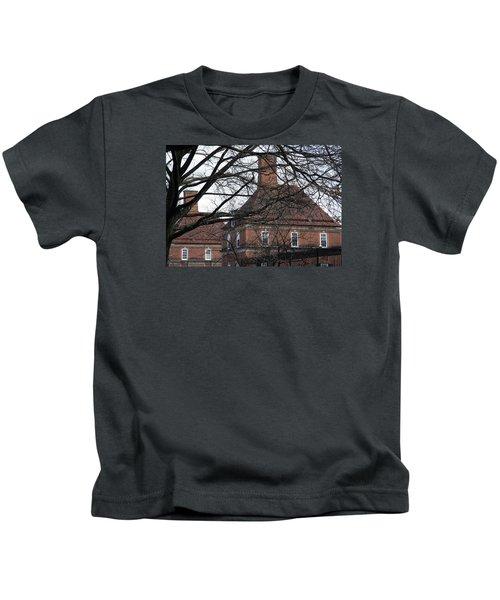 The British Ambassador's Residence Behind Trees Kids T-Shirt