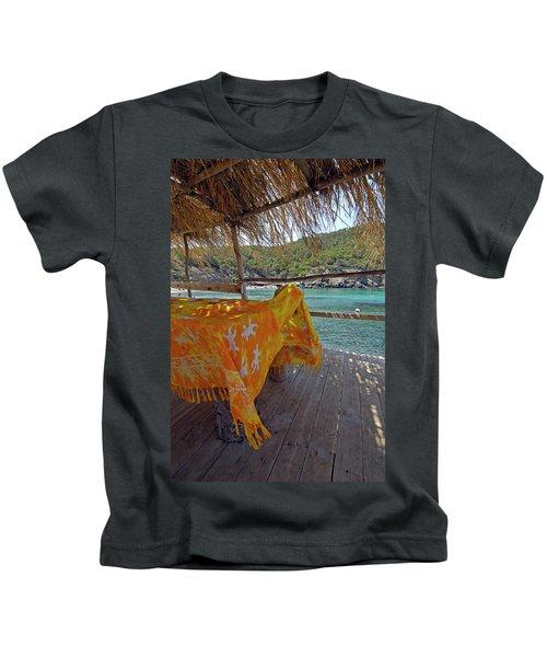 Benirras Beach, Ibiza, Balearic Kids T-Shirt