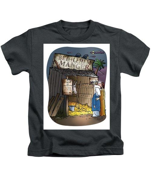 Bethlehem Manger Kids T-Shirt