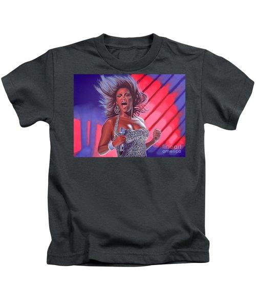 Beyonce Kids T-Shirt by Paul Meijering