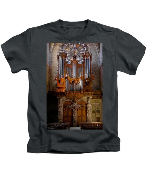 Beziers Pipe Organ Kids T-Shirt
