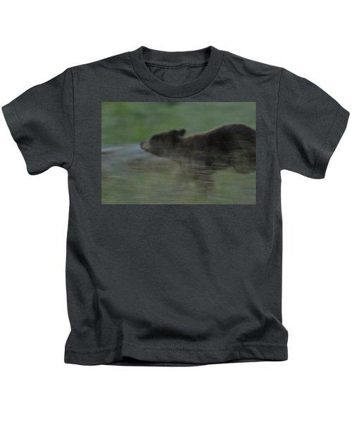 Black Bear Cub Kids T-Shirt