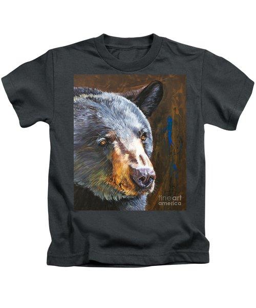 Black Bear The Messenger Kids T-Shirt