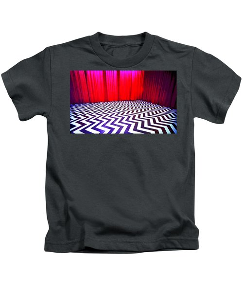 Black Lodge Blues Kids T-Shirt