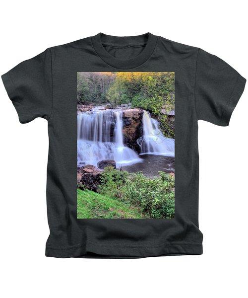 Blackwater Falls Kids T-Shirt