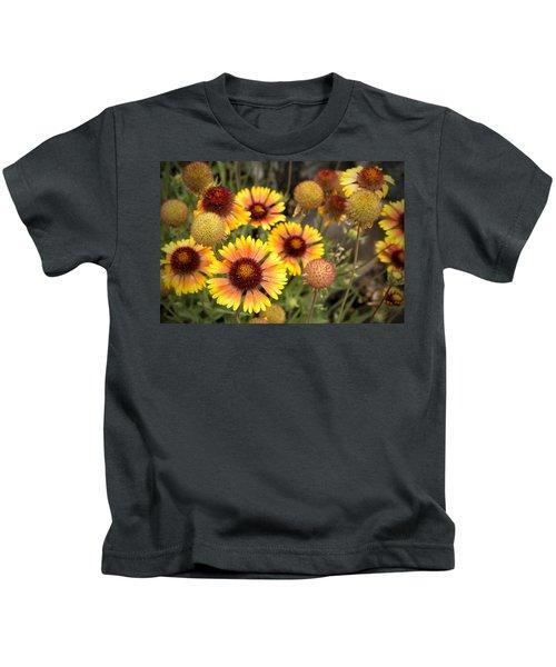 Blanket Flowers  Kids T-Shirt
