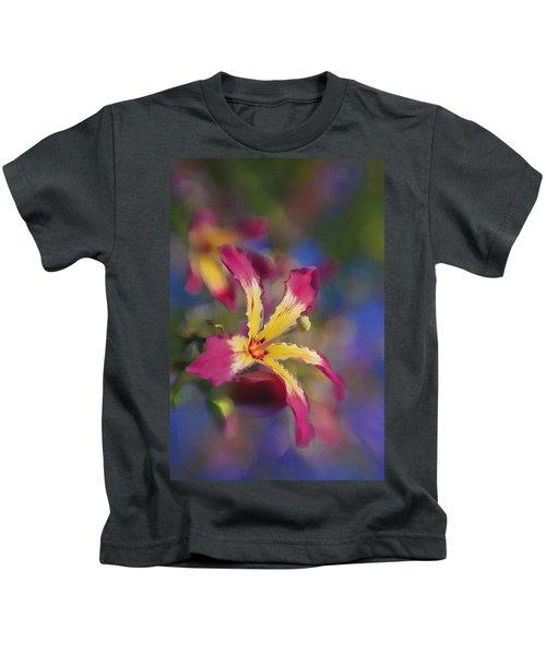 Bloomin Hong Kong Orchid Kids T-Shirt