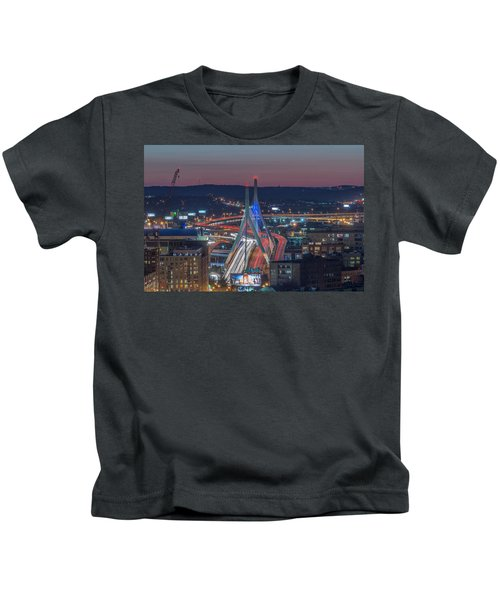 Blue And Red Zakim Kids T-Shirt