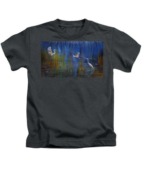 Blue Bayou II Kids T-Shirt