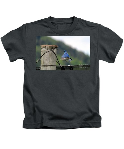 Blue Bird Kids T-Shirt