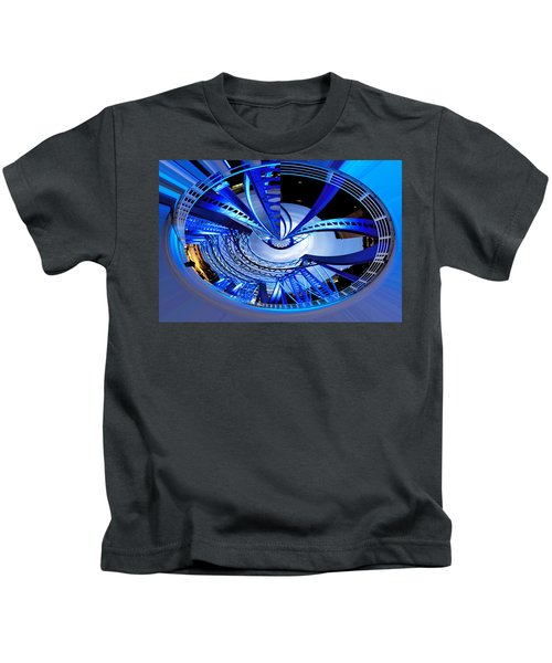 Blue Steel Kids T-Shirt