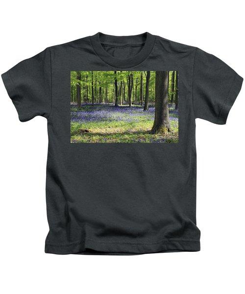 Bluebell Wood Uk Kids T-Shirt