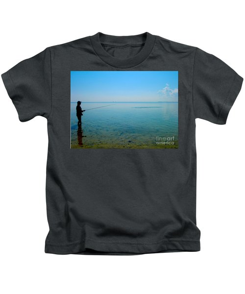 Bonefish Stalk  Kids T-Shirt
