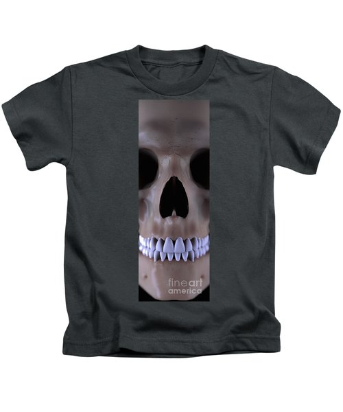 Bones Of The Face And Teeth Kids T-Shirt