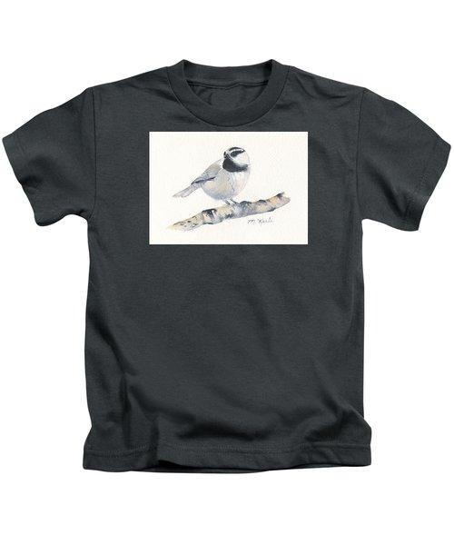 Bozeman Native - Mountain Chickadee Kids T-Shirt