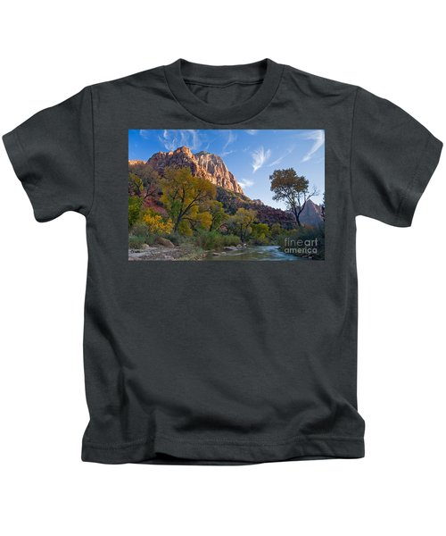 Bridge Mountain Kids T-Shirt