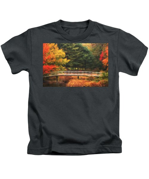 Bridge To Autumn Kids T-Shirt