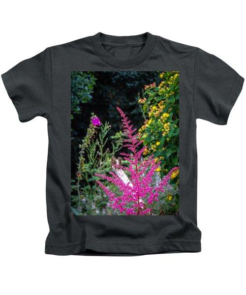 Brilliant Astilbe In Markree Castle Gardens Kids T-Shirt