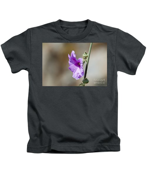 Bristly Hollyhock Kids T-Shirt
