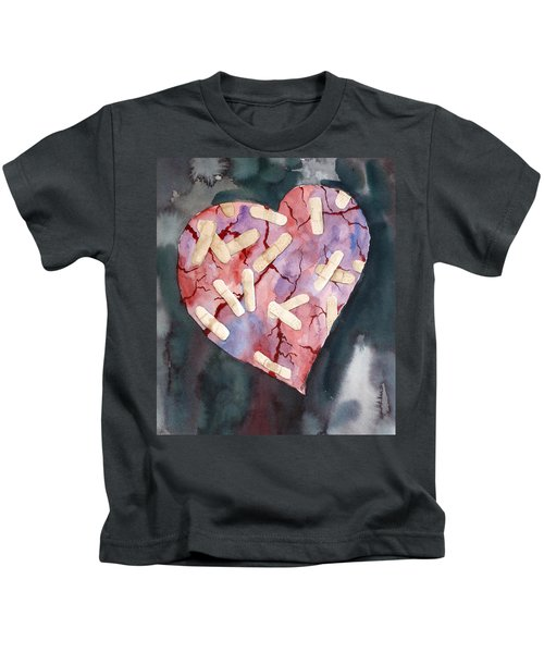 Broken Heart Kids T-Shirt