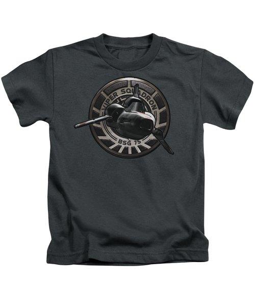 Bsg - Viper Squadron Kids T-Shirt