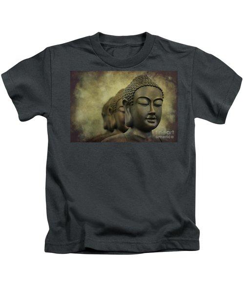 Buddha Bronze Kids T-Shirt