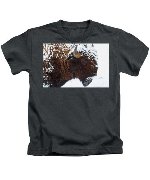 Buffalo Nickel Kids T-Shirt