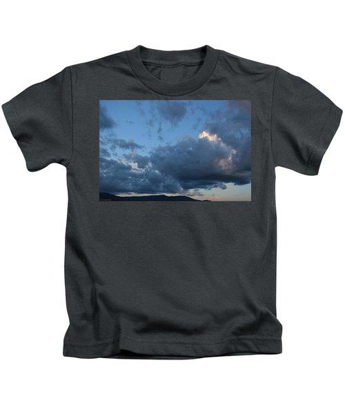 Building Cumulus In Evening Light Kids T-Shirt