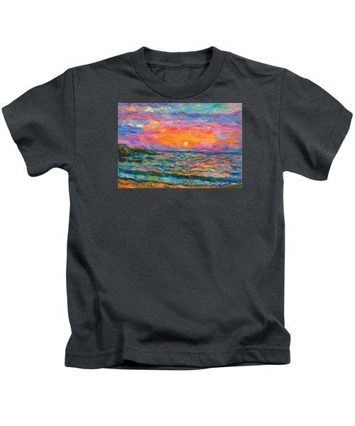 Burning Shore Kids T-Shirt