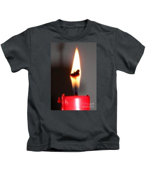 Butterfly Flame Kids T-Shirt