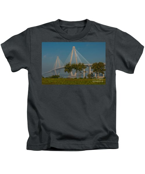 Cable Stayed Bridge Kids T-Shirt