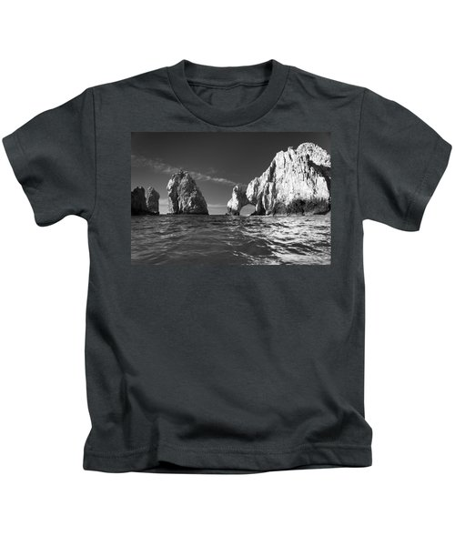Cabo In Black And White Kids T-Shirt