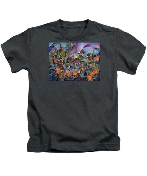 Cactus Dinamicus 3d Kids T-Shirt
