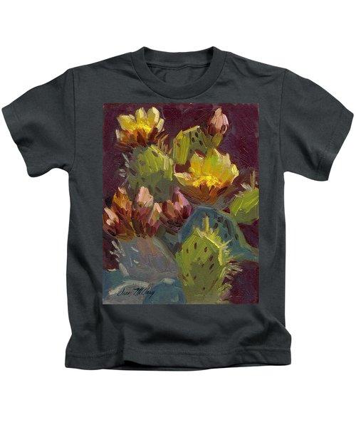 Cactus In Bloom 1 Kids T-Shirt