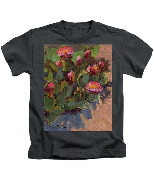 Cactus In Bloom 2 Kids T-Shirt