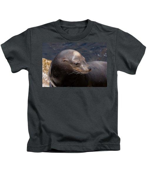 California Sea Lion Kids T-Shirt