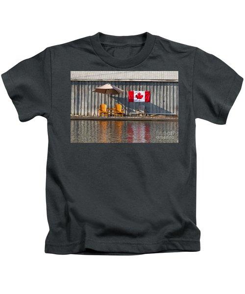 Canada Day In Muskoka Kids T-Shirt
