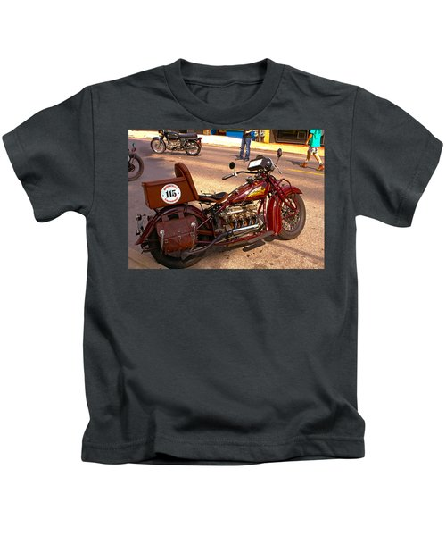 Cannonball Indian #115 Kids T-Shirt