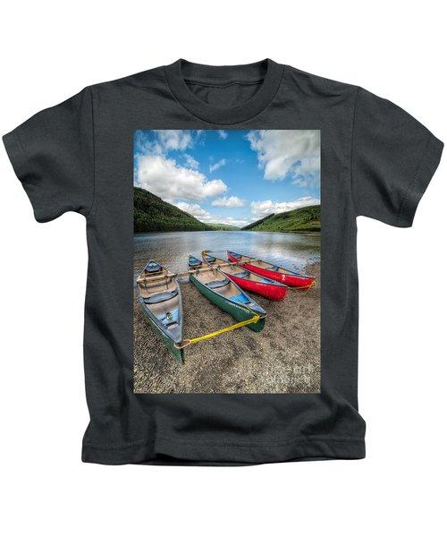 Canoe Break Kids T-Shirt