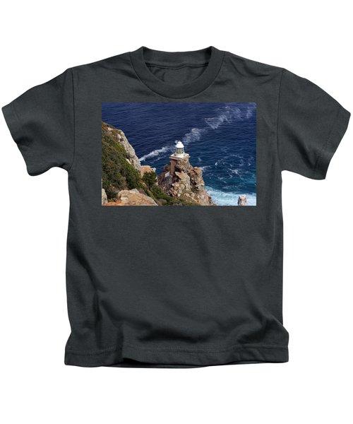 Cape Of Good Hope Lighthouse Kids T-Shirt