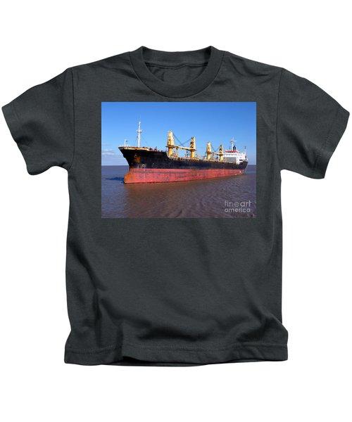 Cargo Ship Kids T-Shirt
