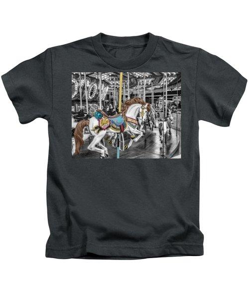 Carousel Horse Equ168125 Kids T-Shirt