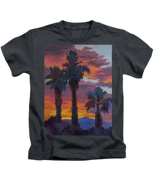 Casa Tecate Sunrise 2 Kids T-Shirt